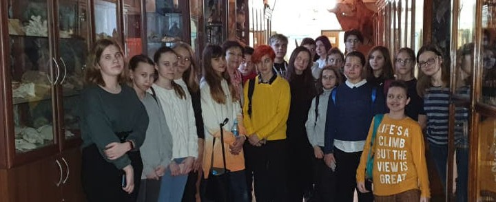 Экскурсия по кафедре зоологии и экологии ИБХ для учащихся школы 1034