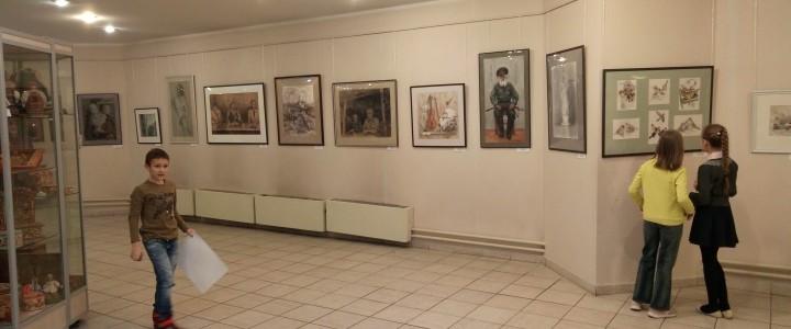 Выставка дипломных работ выпускников ХГФ ИИИ МПГУ