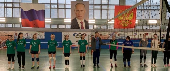 Начался 1 тур Чемпионата МПГУ по волейболу среди женских команд