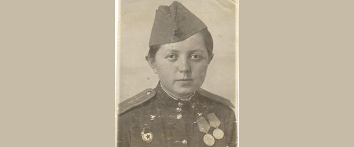 Бессмертный полк МПГУ: Митина (Магадзе) Ирина Ивановна
