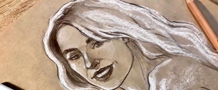 """Виртуальные мастер-классы """"Люди рисуют людей"""""""