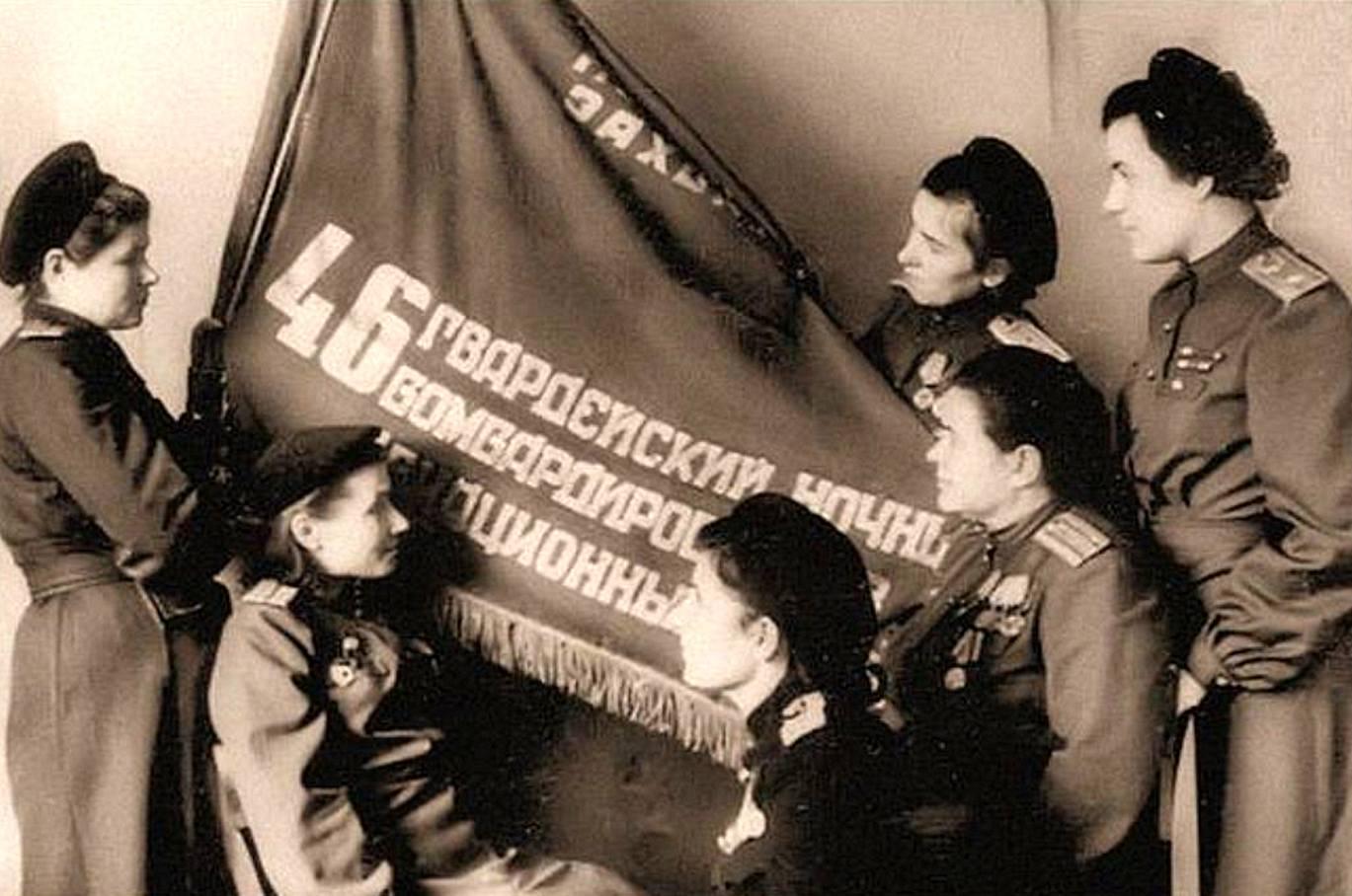 У Боевого знамени полка