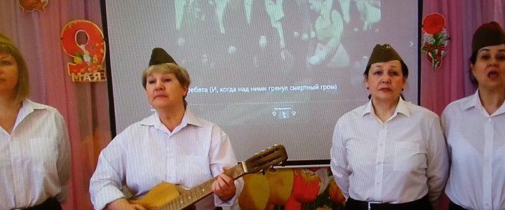 Факультет дошкольной педагогики и психологии принял участие в Акции «Песни дорог фронтовых»