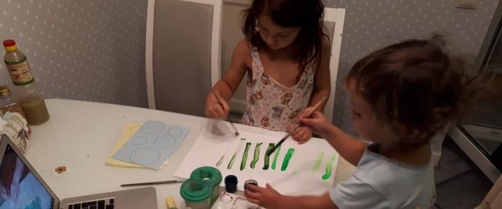 Студенты и преподаватели МПГУ проводят мастер-классы для дошкольников