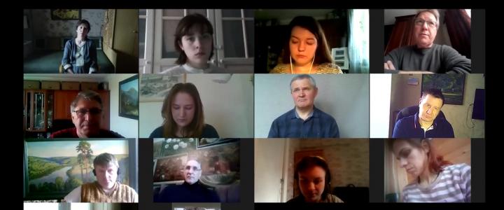 Отчетная научно-исследовательская веб-конференция студентов кафедры рисунка