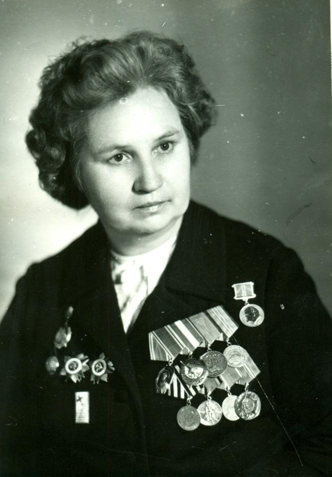 А.Ф. Акимова. 1970-е гг.