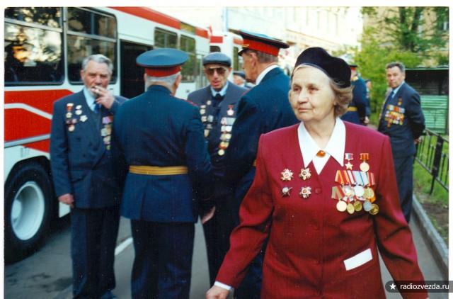 А.Ф. Акимова на встрече с ветеранами