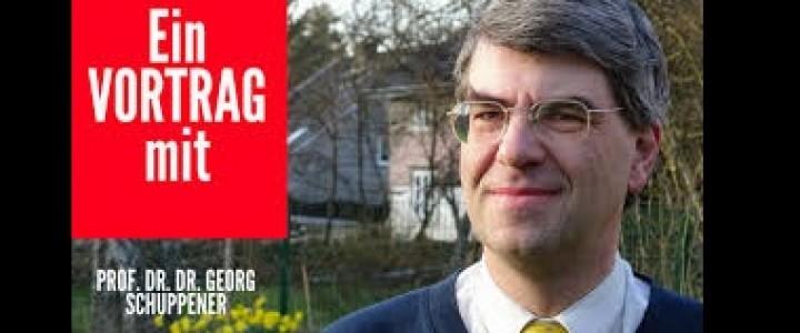 Мастер-класс профессора Георга Шуппенера (Германия) в Институте иностранных языков