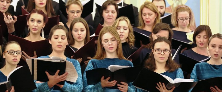 "Женский хор ""Весна"" МПГУ на Фестивале духовно музыки ""Ридигер"""