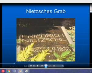 Фридрих Ницше – философ, поэт, музыкант: разговор с учёным и писателем, профессором Элмаром Шенкелем (Лейпциг) в Институте иностранных языков