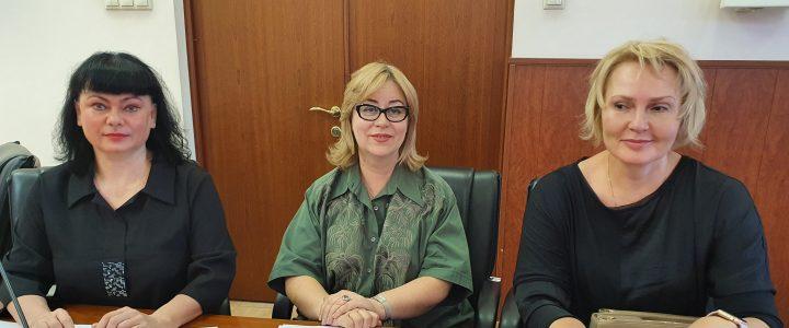 Декан Факультета дошкольной педагогики и психологии МПГУ приняла участие в заседании конкурсной комиссии Минпросвещения России по предоставлению в 2020 году грантов из федерального бюджета