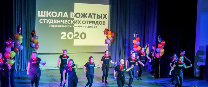 Школу вожатых студенческих отрядов города Москвы прошли бойцы Штаба СО МПГУ