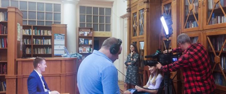 Сюжет о трудоустройстве выпускников МПГУ вышел на Первом канале