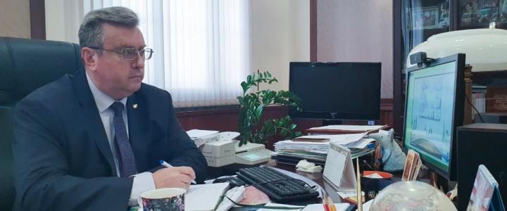 Алексей Лубков принял участие в заседании рабочей группы Госсовета РФ