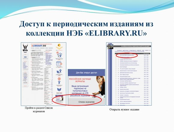 3. Доступ к периодическим изданиям