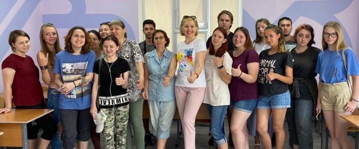 Студенты Анапского филиала МПГУ оформили учебные аудитории в креативном формате!
