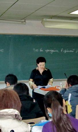 Переводчики ИИЯ представили свой финальный аттестационный проект по окончании практического курса перевода китайского языка