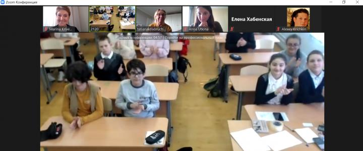Продолжение разговора о грамотности с московскими школьниками