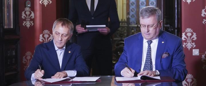 Ректор МПГУ и директор Бахрушинского музея подписали соглашение о сотрудничестве