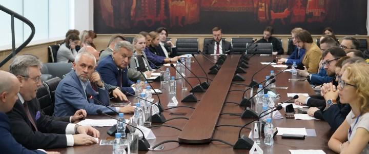 Представители МПГУ обсудили с коллегами проблемы истории и памяти о прошлом