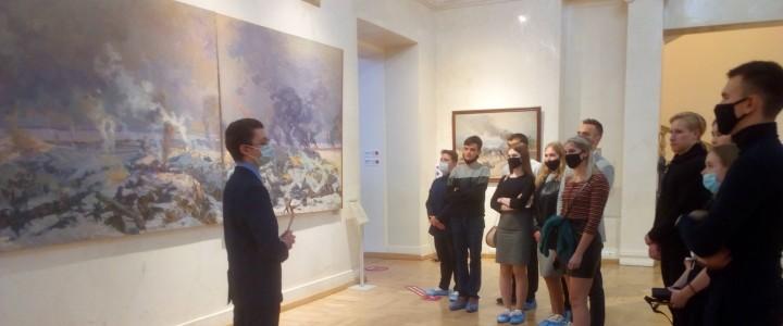 Студенты ИИиП на выставке в Музее современной истории