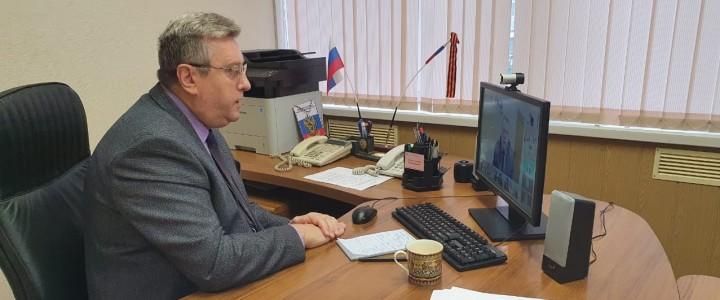Ректор МПГУ обсудил реализацию целевого обучения