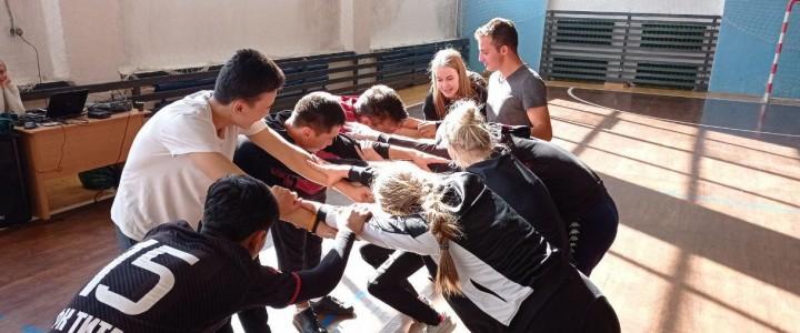 Студенты Покровского Филиала провели «Весëлые Старты» для студентов Социально-гуманитарного колледжа
