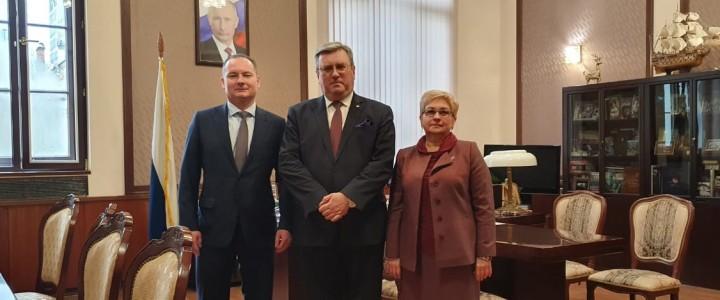 Алексей Лубков провел рабочую встречу с главой Ленинского городского округа