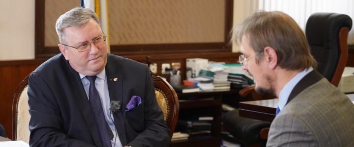 Алексей Лубков дал интервью tvnauka.online