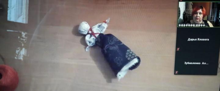 """Мастер-класс «Народная тряпичная кукла-мотанка """"Отдарок на подарок""""»"""