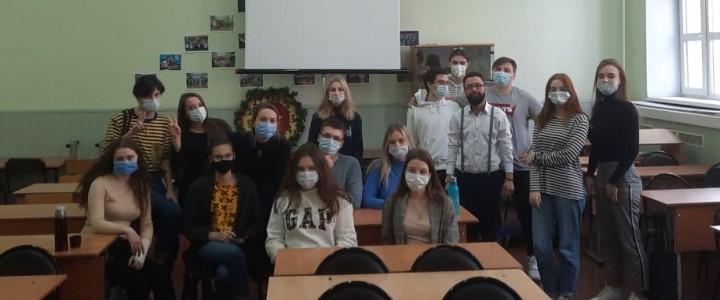 На этой неделе продолжились встречи студентов 1 курса Института филологии с кураторами