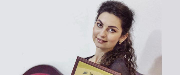 Поздравляем Элину Агееву с победой в конкурсе «Орфей–2020»!