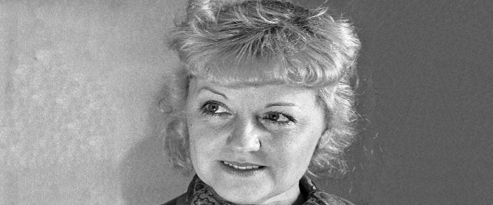 «Величайшая актриса нашего времени»: к 120-летию со дня рождения  Марии Бабановой