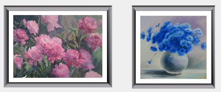 Международная виртуальная выставка творческих работ студентов и преподавателей «Вальс цветов»