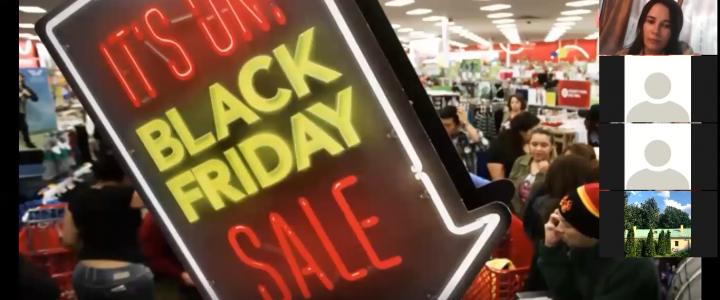 Университетская среда : Мастер-класс «Black Friday: a blessing or a curse?»