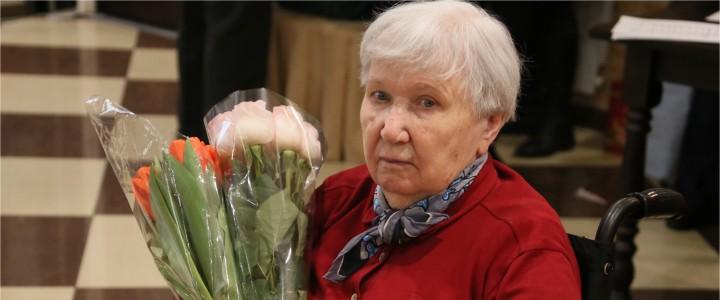 90-летний юбилей Дины Глебовны Оклянской