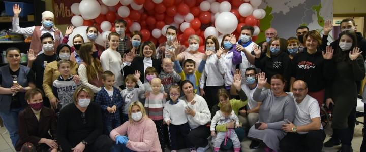 Волонтеры просвещения МПГУ на празднике «Доброго дома»!