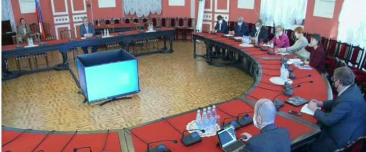 Оперативное совещание ректората в расширенном составе
