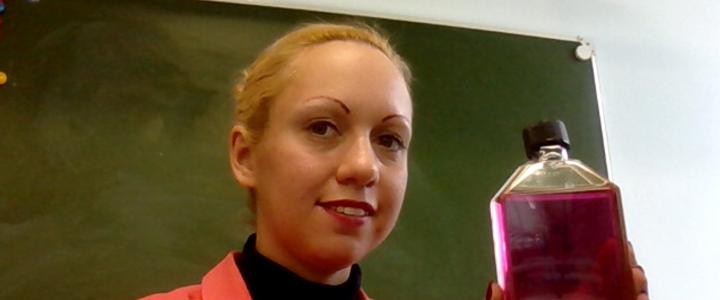 Ассистент кафедры биохимии, молекулярной биологии и генетики Сивопляс Е.А. приняла участие в проекте «Университетская среда в МПГУ»