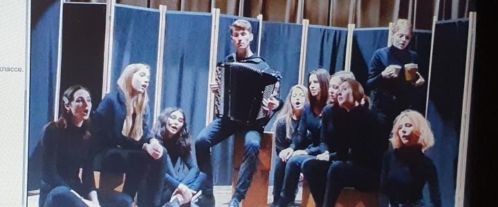 «И красной нитью – музыка…»: спектакль студентов-музыкантов на «Университетской субботе»
