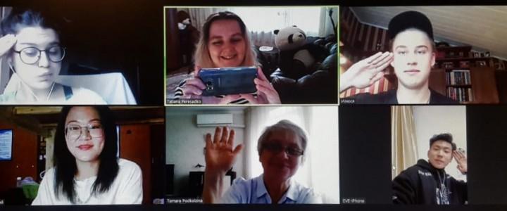 Русско-китайский разговорный клуб для начинающих на Подготовительном факультете РКИ Института филологии