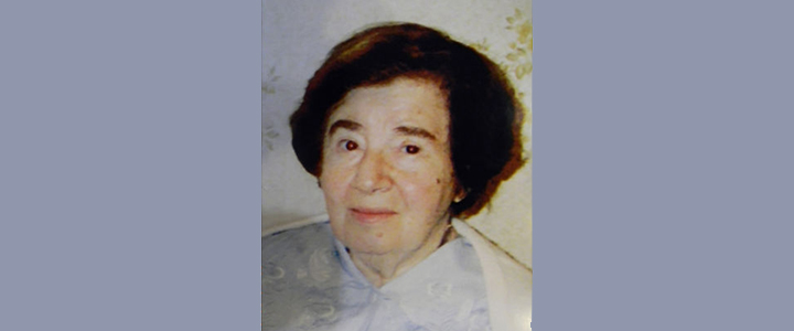 «Вспомним всех поимённо»: Светлой памяти Мэри Лазаревны Абрамсон (11.12.1918 – 14.03.2010)