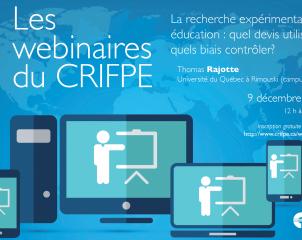 Academic contactus. Онлайн вебинары от Межуниверситетского исследовательского центра педагогического образования (CRIFPE) при Университете Монреаля