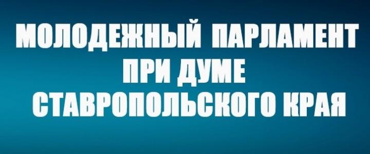 Студент Ставропольского филиала МПГУ принял участие в работе Молодёжного парламента Ставропольского края
