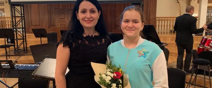 Лицеистка стала участницей мультконцерта в Казани