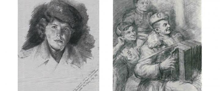 ХГФ: фронтовой портретный рисунок (к 75-летию Великой Победы)
