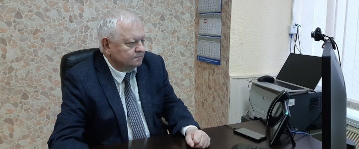 Директор Института математики и информатики МПГУ С.Д.Каракозов принял участие в работе международной конференции