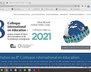 Academic contactus. 8-я Международная онлайн – конференция по вопросам образования в Монреале (Квебек, Канада)