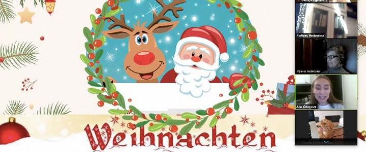 «Advent, Advent ein Lichtlein brennt»: 24 декабря состоялся вечер, посвященный рождественским традициям в Германии