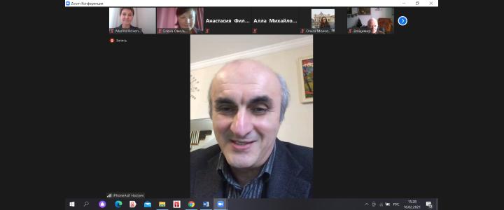 Лекцией профессора из Азербайджана о сетевой литературе открылся в МПГУ просветительский лекторий к Международному дню родного языка